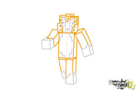Small Picture How to Draw Stampylonghead from Minecraft DrawingNow