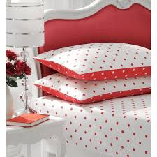 polka dot stripe and check ed sheet percale cotton 14 colours 3 sizes