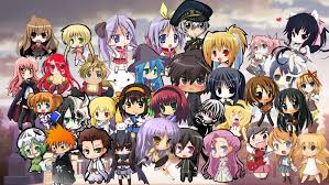 anime characters chibi. Contemporary Chibi Anime Characters In Chibi Form Picture For To B