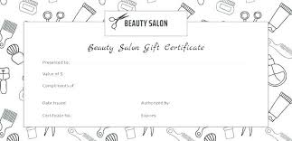 Birthday Gift Certificate Template Word Free Skincense Co