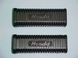 ohio cycle vintage honda motorcycle parts picture of 50731 256 000 rear footrest rubbers fits all cl72 and early cl77