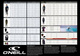 O Neill Booties Size Chart Our First Ever Wetsuit Sale