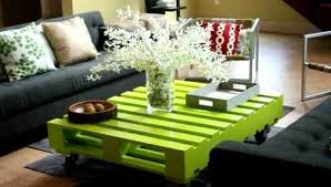 pallets as furniture. Green Coffee Table Pallets As Furniture