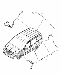 2014 chrysler town country wiring chassis underbody