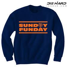 best Store Sunday Deal Navy - Chicago Funday Sweatshirt Bears