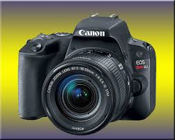 Canon Camcorder Comparison Chart Canon Eos Rebel Sl2 200d Dslr Camera Review Best Camera