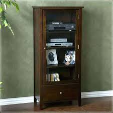 charming audio cabinet with glass doors top audio cabinet with glass doors tall audio cabinet with