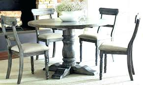 distressed pine dining table weathered dining set
