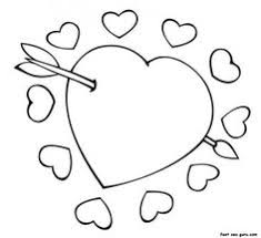 Small Picture Heart coloring page Download Free Heart coloring page for kids