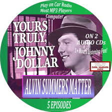 Yours Truly Johnny Dollar Vol. 3 Old Time Radio - 12 Audio CD - 24 Shows  for sale online | eBay