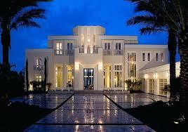 art style exterior deco home design plans