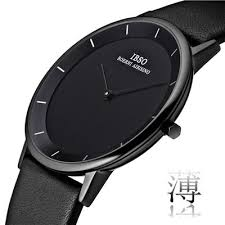 ultra thin new couple watches waterproof leather belt black homewatcheslover s watchesultra thin new couple watches waterproof leather belt black watch men fashion trendy female table simple quartz qatch