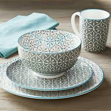 better homes and gardens dishes. Exellent Gardens Unusual Better Homes Gardens Dishes Wellsuited And Piers Gray Mix Match  16 Piece On