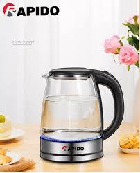 bình siêu tốc mini ấm đun nước siêu tốc mini ấm siêu tốc rapido sôi nước  nhanh bảo hành uy tín