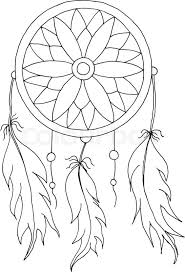 Dream Catcher With Birds Cool Hand To Draw A Dreamcatcher With Beads And Feathers Of Birds Stock