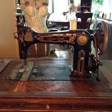 Greist treadle sewing machine recent Yard sale find!   Collectors Weekly