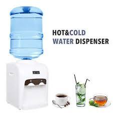 electric hot cold water cooler dispenser 3 5 gallon home office use desktop