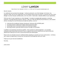 Retail Manager Cover Letter Example Lezincdc Com