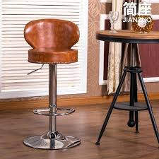 full size of retro brown leather bar stool vintage red stools chairs fashion simple chair reception