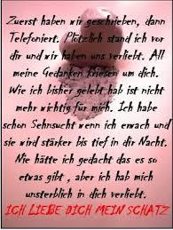 Schatz Sprüche Ich Liebe Dich Mein Valentins Tag