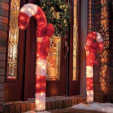 Candy Cane Outdoor Christmas Decorations Pleasing Outdoor Christmas Candy Cane Decorations Dazzling Decor 22