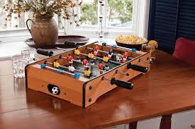 Miniature Wooden Foosball Table Game Amazon Mainstreet Classics 100Inch Table Top FoosballSoccer 35