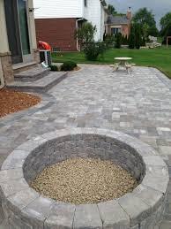 Backyard Stone Patio Designs The Home Design  Stone Patio Designs Backyard Patio Stones