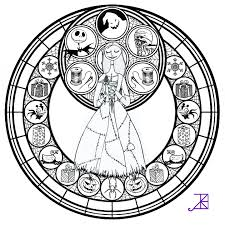 Small Picture Jack Frost Stained Glass Coloring Page by Akili Amethyst on