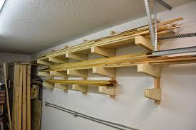 diy wall mounted lumber rack featuring lane bros wood