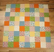 How to work with Quilt Patterns - Diary of a Quilter - a quilt blog & For this project, as we continue on our Quilt Along, we are going to make a  baby quilt measuring 42″ x 42″ using 81 4″ squares with 3″ wide borders on  all ... Adamdwight.com