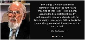 Nature Quotes Inspiration RJ Rushdoony Quote Few Things Are More Commonly Misunderstood