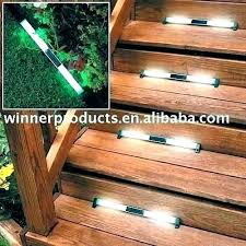 outdoor stairs lighting. Outdoor Step Lights Solar Stairs Lighting  Source A
