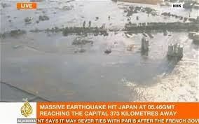 earthquake and tsunami as it happened telegraph