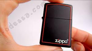 <b>Зажигалка Zippo</b> 218 ZB Black Matte (Видео обзор) podarki ...