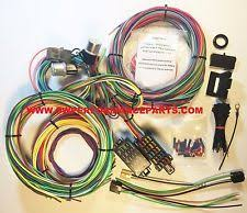chevy wiring harness parts accessories new 21 circuit ez wiring harness mini fuse chevy ford hotrods universal xl wires