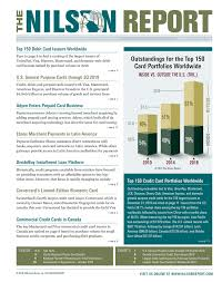 Acceptance Now Payment Chart Card And Mobile Payment Industry News The Nilson Report