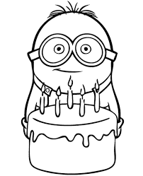 Minion Coloring Pages Bob Minions Chronicles Network