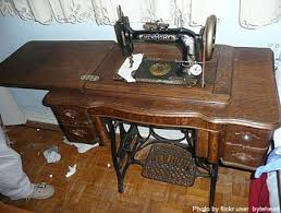 Antique New Home Treadle Sewing Machine