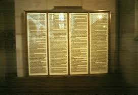 martin luther posts theses aaron tallent s  replica of 95 theses