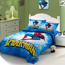 comforter bedding set twin full queen cartoon for kids comforters duvet cover quilt bed linen sheet bedding twin set spider man kids