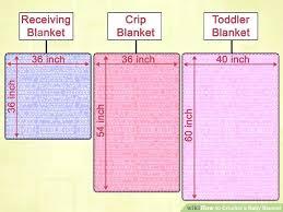 standard baby crib quilt size – freehddesktopwallpaper.info & standard baby blankets size image titled crochet a baby blanket step 1  standard crib quilt dimensions . standard baby blankets size ... Adamdwight.com