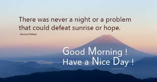 Good Morning Hope Quotes Best of No Problem Can Ever Defeat Hope Quotes