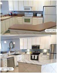 before and after countertops painted with giani white diamond kit white countertop paint home design ideas