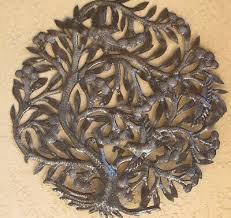 tree of life oversized metal wall art