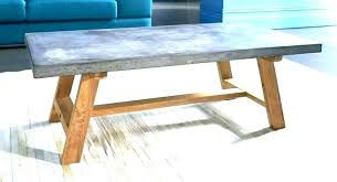 concrete coffee table diy cinder block pete cement concrete coffee table