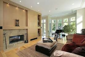 Light hardwood floors living room White Wall The Hardwood Flooring In This Naturally Lit Living Room Is Unified With The Beige Color Of Home Stratosphere 22 Living Rooms With Light Wood Floors pictures