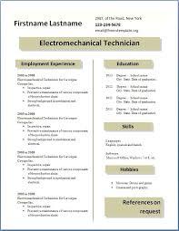 Free Resume Com Free Template Free Resume Template Download Pdf
