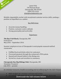 Cashier Resume Sample Resume Cashier Example Free Letter Templates