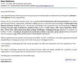 Bunch Ideas Of Sample Job Application Letter Format India With