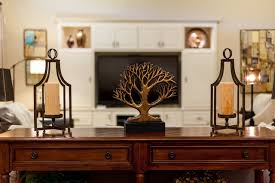 sofa table in living room. Sofa Table Transitional-living-room In Living Room D